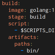 Keeping common scripts in GitLab CI